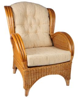De rieten rotan manou stoel en lloyd loom meubelen site for Kussens voor op stoelen